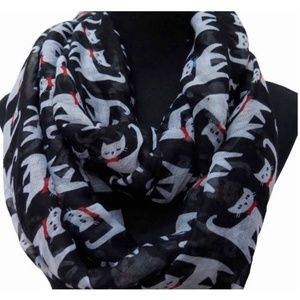 Black Cat Lady for Infinity Scarf